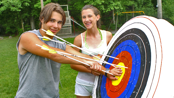 Archery at Otter Lake Camp  Resort